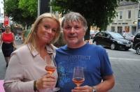 Beatrix Drenning mit Walter Polz (Foto Hedi Grager)
