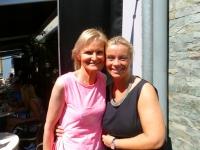 Beatrix Drenning mit Hedi Grager (Foto Hedi Grager)