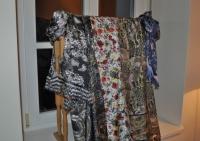 Schals der Designerin Ginny Litscher (Foto Reinhard Sudy)