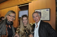 Hedi Grager, Evelyn Rille mit Gatten (Foto Reinhard Sudy)