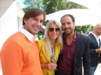 Christian Wagner mit Manuela + Markus Jocher (Foto H.Grager)
