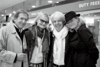 Hans Schullin, Hedi Grager, Reinhard Sudy, Anne Marie Schullin (Foto Eva Maria Guggenberger)
