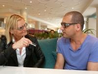 Omid Karimy und Hedi Grager (Foto Sudy)