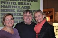 Renate und Walter Polz mit Hedi Grager (Foto Sudy)