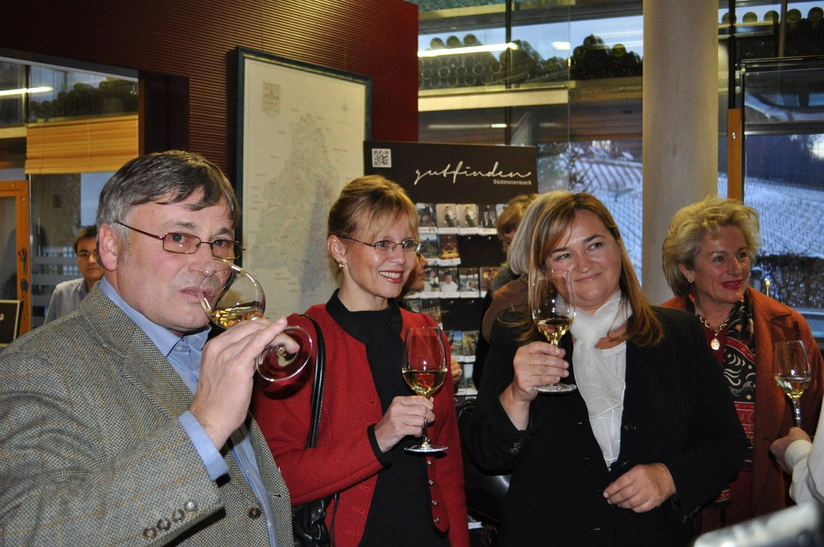 Ladies Taste: Sektverkostung bei Renate Polz