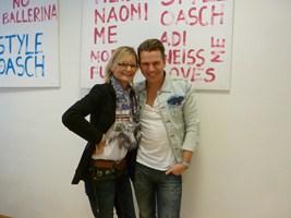 Adi Weiss mit Hedi Grager (Foto D. Gruber)