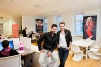 Michael Lameraner und Adi Weiss (Foto Stefan Gergely)