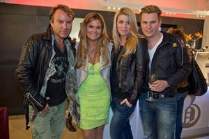 Uwe Kröger, Andrea Bocan, Sabine Mord und Adi Weiss (Foto Peter Ziech)