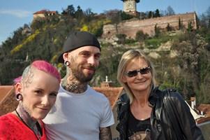 Christine, Mike Waldez und Hedi Grager (Foto R. Sudy)