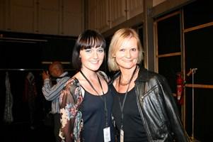 Eva Poleschinski und Hedi Grager (Foto Scharfetter)