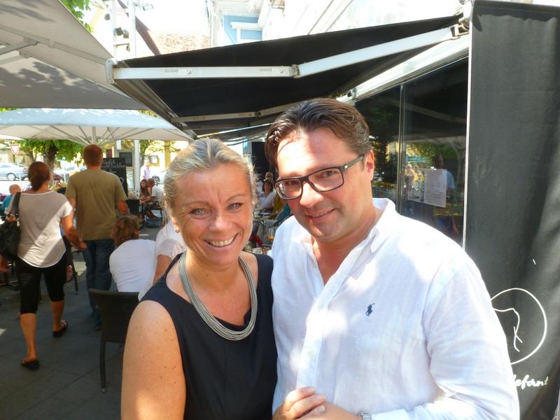 Beatrix und Oliver Drenning (Foto Hedi Grager)