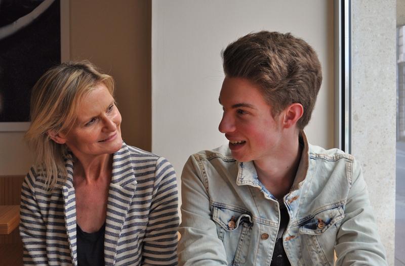 Hedi Grager und Hannes Oberbichler (Foto Reinhard Sudy)