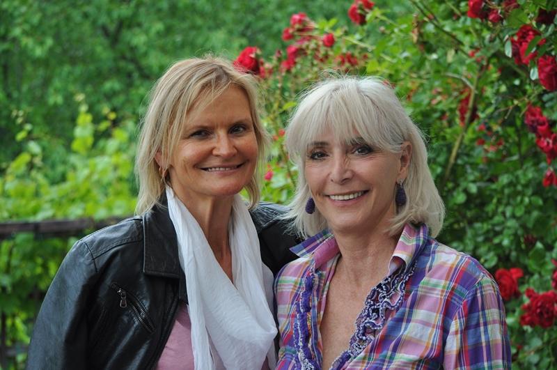 Hedi Grager und Nora Trierenbnerg (Foto Reinhard Sudy)
