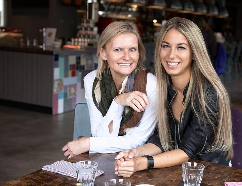 Hedi Grager und Yvonne Rueff (Foto Barbara Nidetzky)