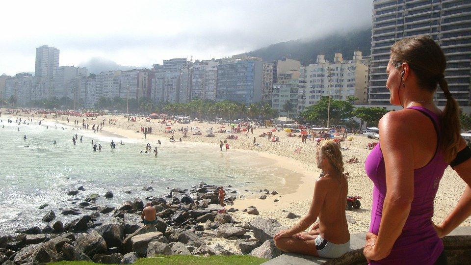 Daniela Matschnig in ihrer Lieblingsstadt Rio (Foto privat)