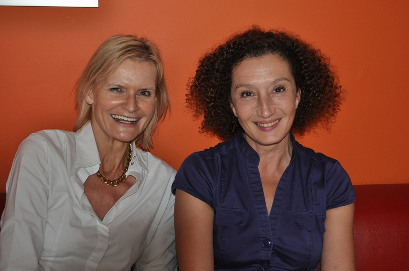 Hedi Grager mit Konstanze Breitebner (Foto R. Sudy)