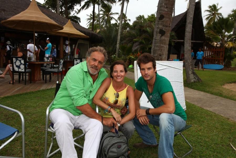 Christian Kohlund, Daniela Matschnig und Patrick Nuo - Das Traumhotel Brasilien