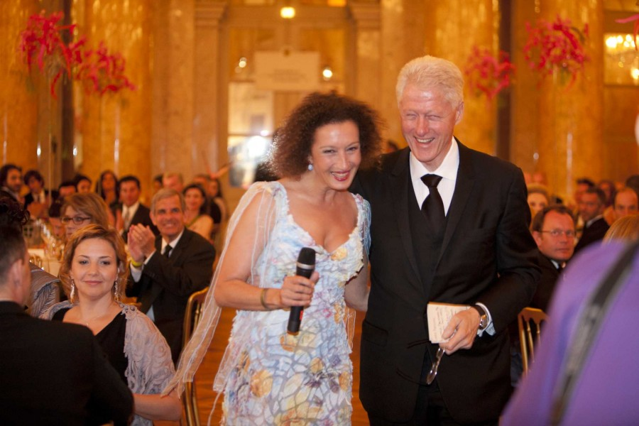 Lifeball 2011 mit Bill Clinton