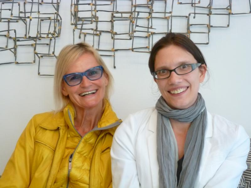 Hedi Grager und Anita Auer (Foto R. Sudy)