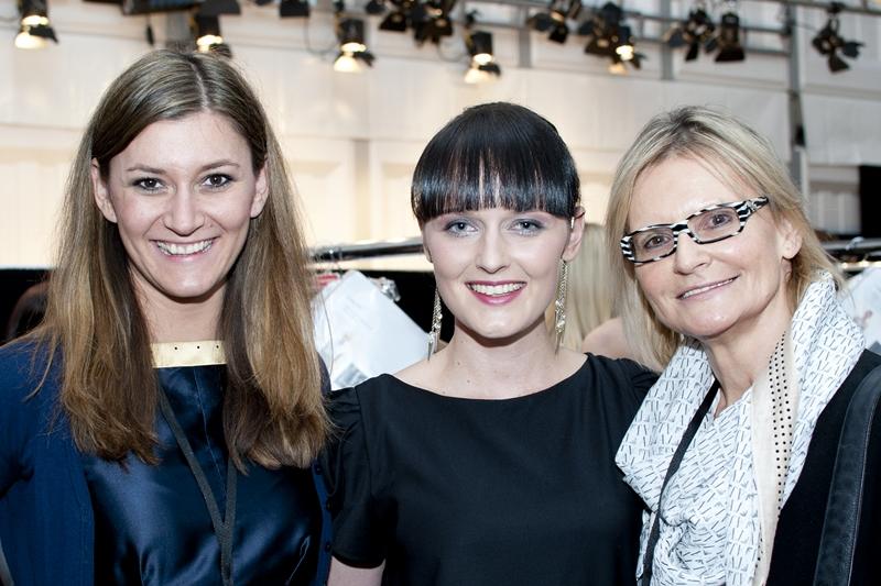 Sandra Thier, RTL II, Eva Poleschinski und Hedi Grager (Foto Eva Maria Guggenberger)