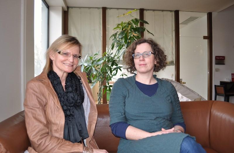 Hedi Grager im Interview mit Diagonale-Intendantin Barbara Pichler (Foto Reinhard Sudy)