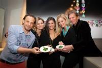 Michael Pech, Anne Marie Legenstein-Schullin, Models Aylin und Angelina, Hans Schullin (Foto Jorj Konstantinov)