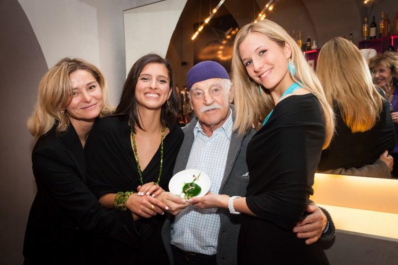 Anne Marie Legenstein-Schullin, Aylin (Model), Erich Kleinschuster, Angelina (Model), (Foto Jorj Konstantinov)