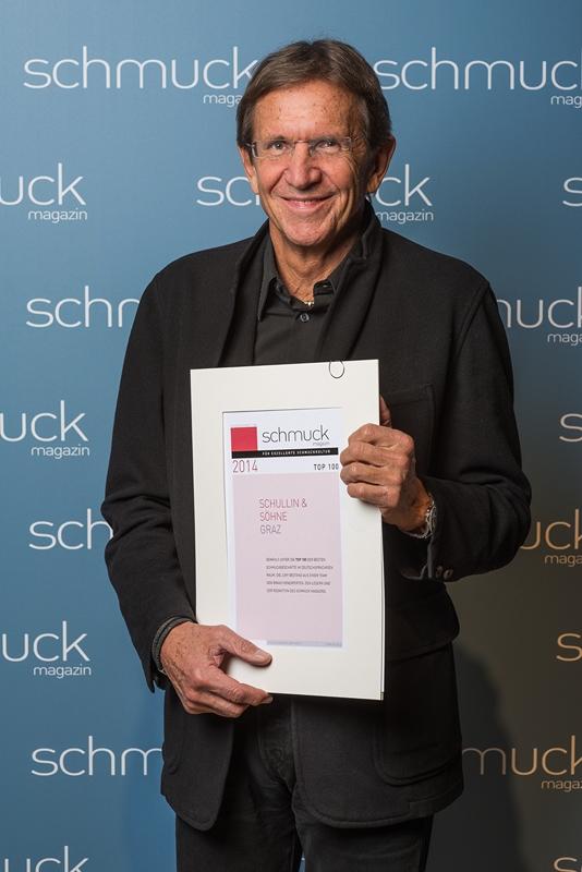 Hans Schullin wurde auf der Inhorgenta Munich 2014 unter die Top 100 Juweliere gewählt (Fotocredit: Christian Schürenberg/Schmuckmagazin/Meth Media)
