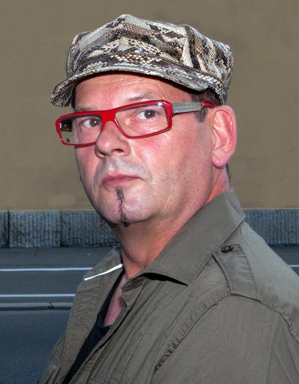 Maler, Bildhauer und Bühnenbildner Werner Stadler (Foto Stadler)