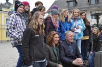 """Beim Dreh zum Tatort Krimi """"Paradies"""" in Mautern (Foto Reinhard Sudy)"""