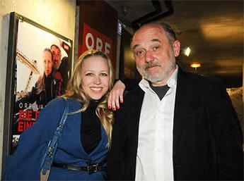 Nina Proll und Karl Fischer (Foto ORF)