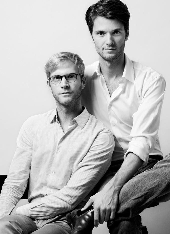 Das erfolgreiche Designerduo ACHTLAND: Oliver Lühr und Thomas Benz ©Sabrina Theissen