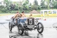 Der älteste Teilnehmer: ein Brasier 1908