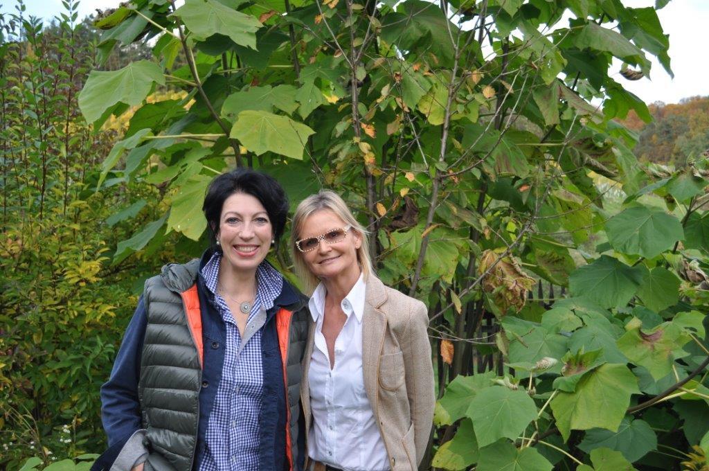 Ich besuchte Iris Vermillion auf ihrem Anwesen in der Südsteiermark (Foto Reinhard Sudy)