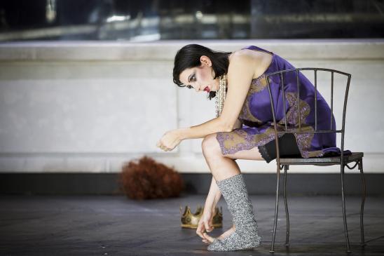 2012 gab Iris Vermillion an der Grazer Oper ihr umjubeltes Rollendebut als Klytämnestra in Richard Strauss' Elektra (Foto Peter Manninger)