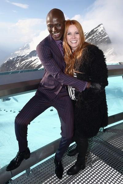 Papis Loveday und Designerin Rebekka Ruetz auf 3000 Metern Höhe (Foto Getty Images)