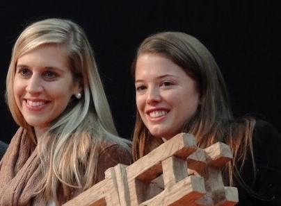 Die beiden erfolgreichen Designerinnen Christine Urech und Simone Hölzl