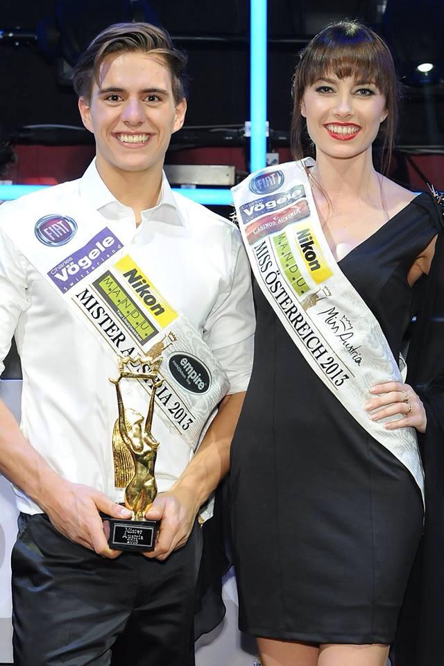Mister und Miss Austria 2013: Philipp Knefz und Ena Kadic