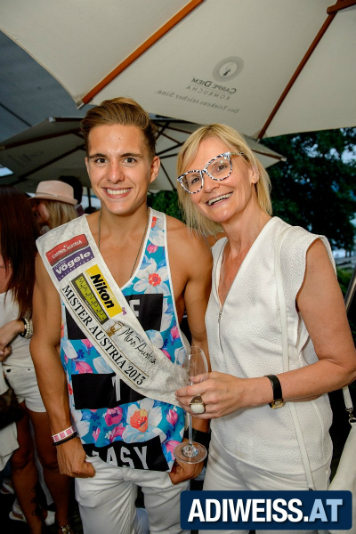 Hedi Grager und Philipp Knefz beim Style up your life!-Event von Adi Weiss am Wörthersee (Foto Thomas Hude)
