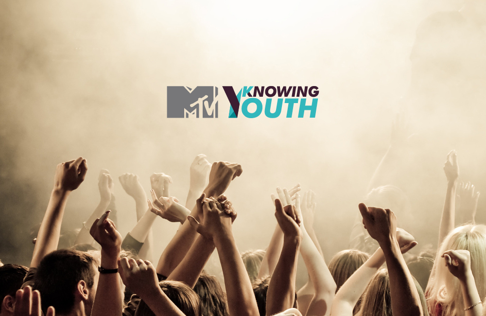 Redesign of the MTV Knowing Youth brand. MTV's observatory of the Millennial Generation, also known as Generation Y - their lives, their beliefs, their attitudes and their behaviors (Foto ERTL Design)