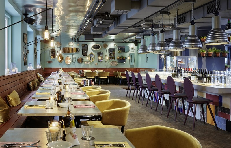 Inspiriert von den coolsten Restaurants in Santa Monica, New York oder Los Angeles: das 1500 Foodmakers (Foto 25hours Hotel)