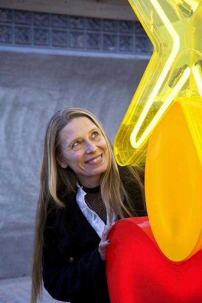 """Die Designerin Maria Christina Hamel arbeitet u.a. seit vielen Jahren für KOZIOL """"ideas for friends GmbH"""""""