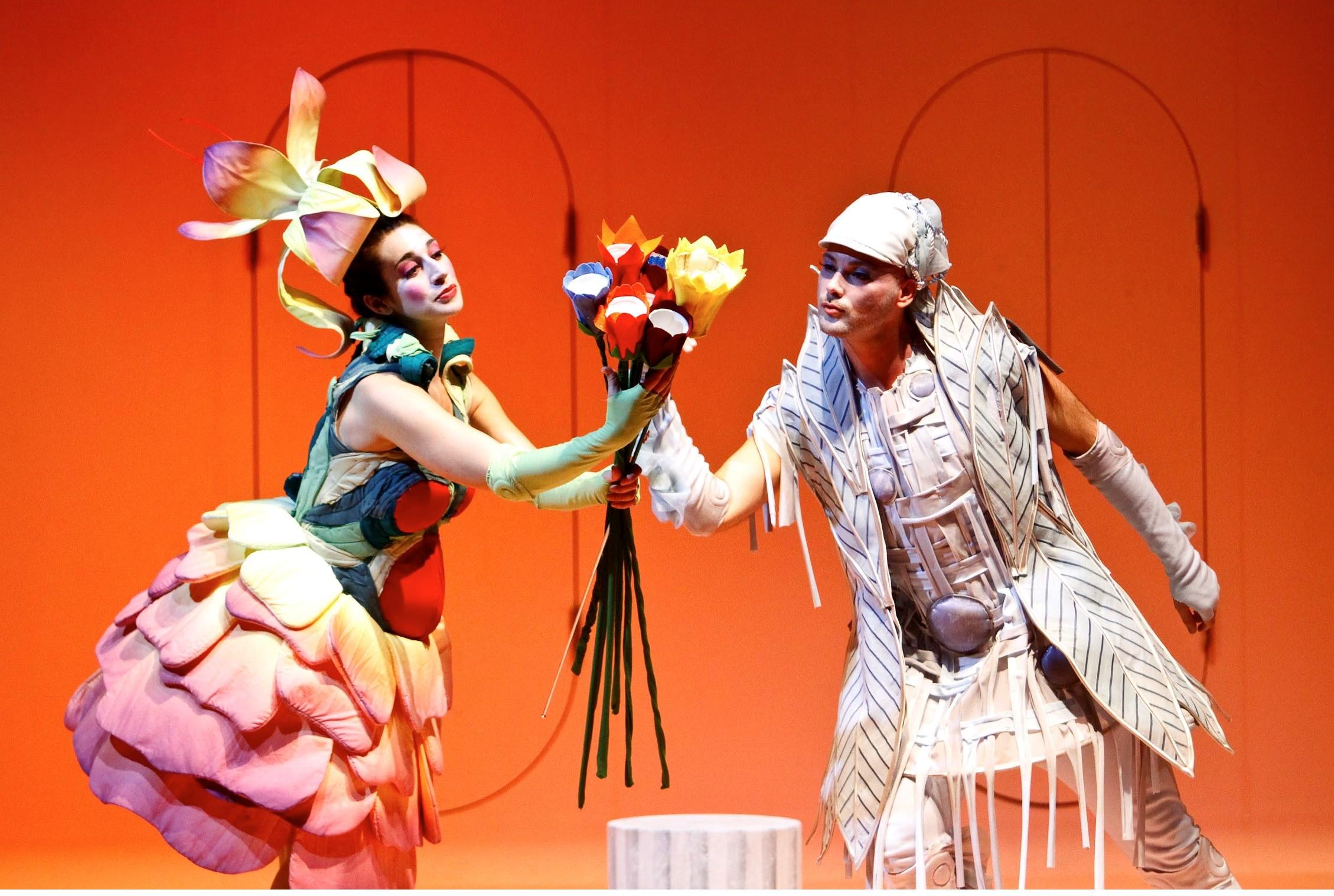 Solmaaz Adeli als Flora in Il Nascimento dell' Aurora  (Foto Christian Husar)