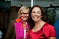 Hedi Grager mit Sherley Schmitz (Foto Werner Krug)