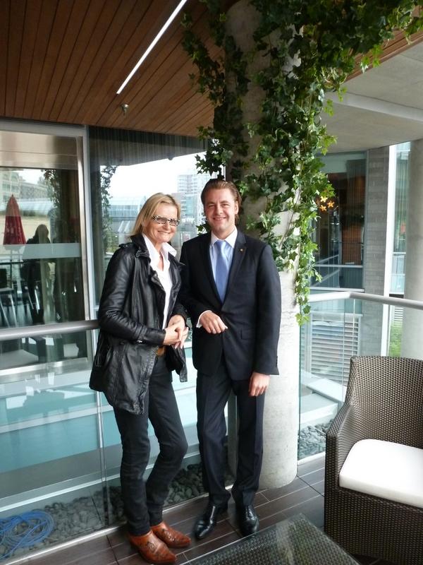 Bei meinem Besuch in Vancouver treffe ich David Auer, den Generalmanager des Restaurants Market by Jean Georges im Shangri La Hotel (Foto Reinhard Sudy)