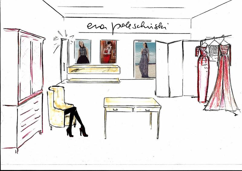 Der neue Vienna Airport Store von ep-anoui by Eva Poleschinski in Kooperation mit der Neuen Wiener Werkstätte