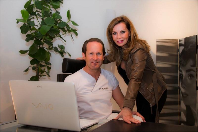 Ein gut eingespieltes Team: Jörg und Sissy Knabl