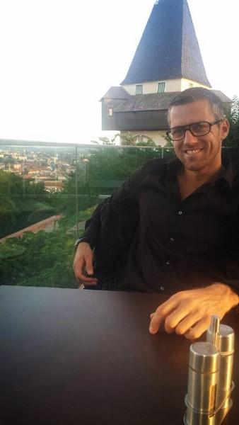 Mark Prettenthaler genießt es sehr, wieder in Graz zu leben.