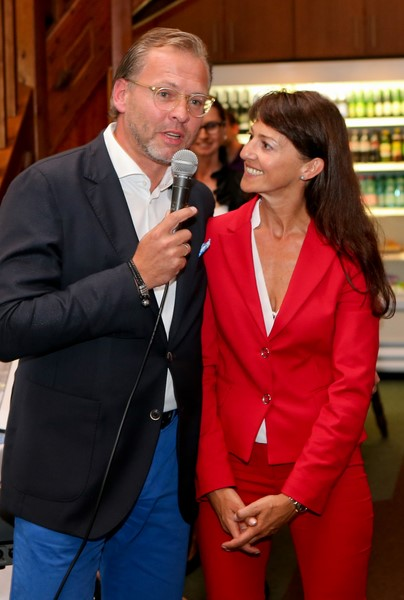 Ein Herz für Kinder: Michael Stöckl und seine Frau Tina Bauer (Foto GEPA)
