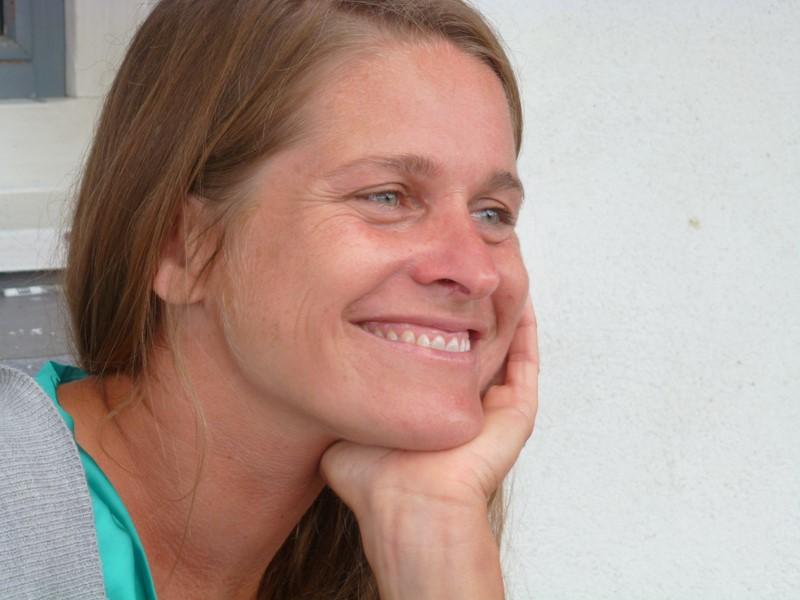 Die vielseitig talentierte Grazerin Clara Bachan Clara Bachan lebt seit mittlerweile 18 Jahren im europäischen Surfer-Zentrum Seignosse (Foto Reinhard Sudy)